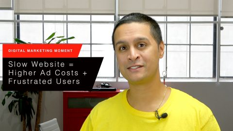 A Slow Website Can Lead to higher Ad Costs + Frustrated Users